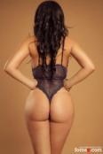Elegante y educada, una universitaria brasileña sensual, dulce y sexy.