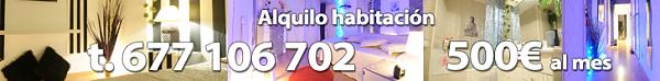 Alquilo habitación 500€ al mes - 677 106 702 Alquilo habitación 500€ al mes - 677 106 702 500€ al me